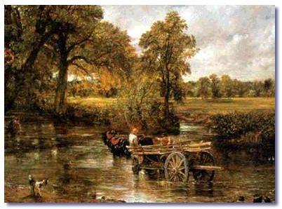 John Constable The Haywain Gene Wolfe | A Mule In...